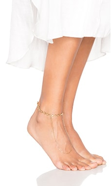 Sadi Payal Anklet in Gold