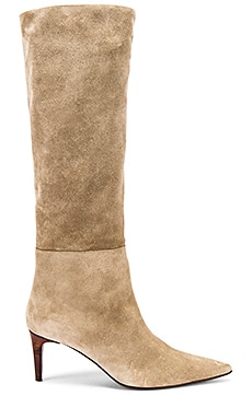 Long Island Heeled Boot HAZY $450