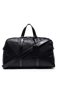Haerfest Pattern Series Overnight Duffel in Black