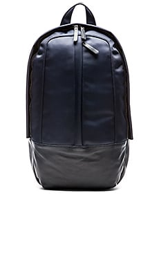 Haerfest Nylon Arch Backpack in Navy