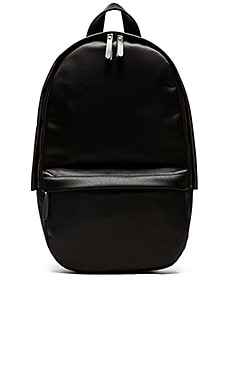 Haerfest Nylon Capsule Backpack in Off Black & Black
