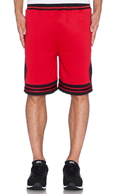 Hall of Fame Jumpoff Shorts in Red