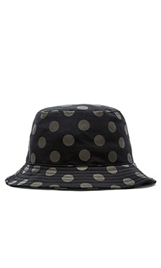 Hall of Fame 3M Dot Bucket Hat in Black