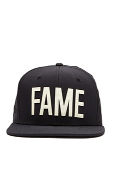 Hall of Fame Ewing GITD Snapback in Black