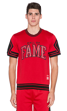 Hall of Fame Shootout Jersey in Red