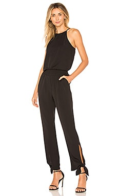 High Neck Tapered Jumpsuit