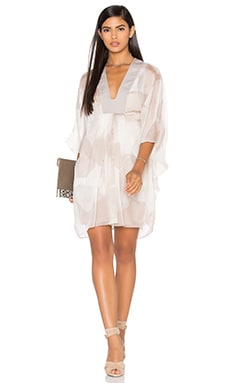 V Neck Caftan Dress
