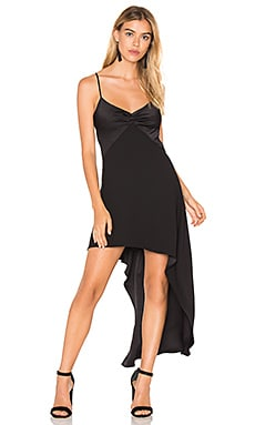 V Neck Asymmetric Dress
