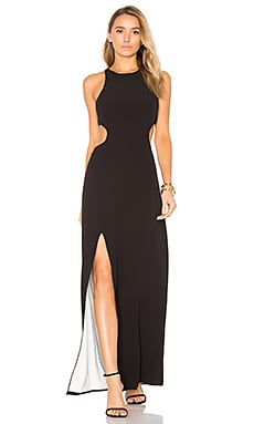 Sleeveless Cut Out Gown