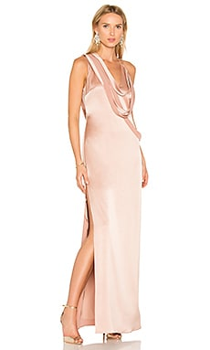 Slip Gown in Almond