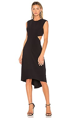 High Neck Dress With Back Cut Out