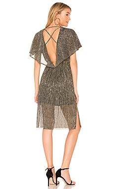 V Neck Slim Dress Halston Heritage $116