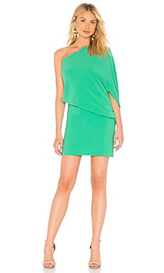 Asymmetrical Sleeve Dress Halston Heritage $295