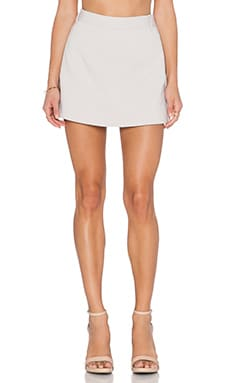 Halston Heritage Structured Skort in Flint