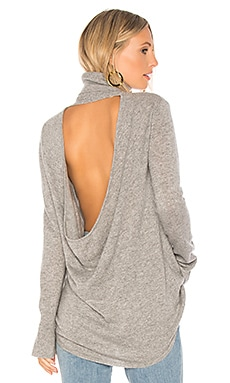 Cowl Back Tunic Sweater