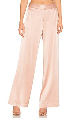 Wide Leg Pant in Almond