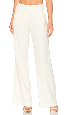 Flowy Wide Leg Pant in Cream