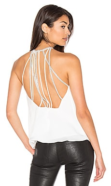 Halter Neck Tank in Chalk