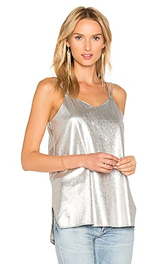 Metallic Cami in Silver
