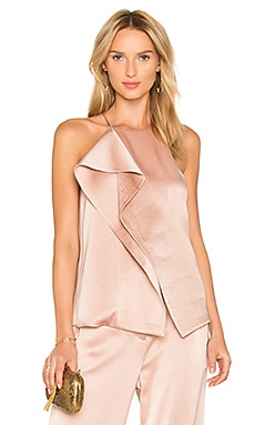 Draped Top in Almond