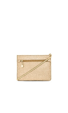 Halston Heritage Candice Triple Crossbody Bag in Gold Multi