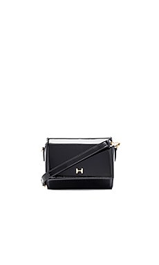 Halston Heritage Geo Mini Crossbody Bag in Black