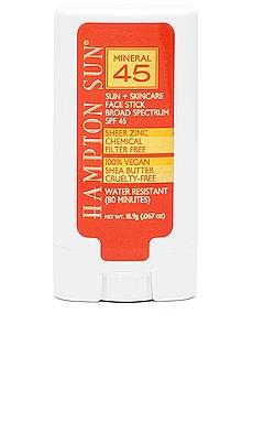 SPF 45 Mineral Face Stick Hampton Sun $22