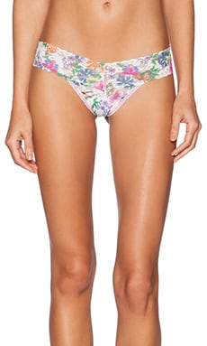 Hanky Panky Low Rise Wild Flower Thong in Multi