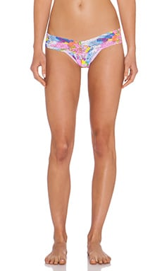 Hanky Panky Colorburst Low Rise Thong in Multi