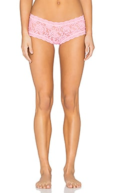 Signature Lace Boyshort in Lip Gloss