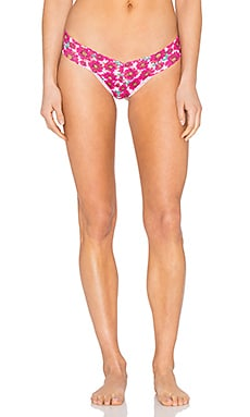 Hanky Panky Alluring Daisies Low Rise Thong in Allure