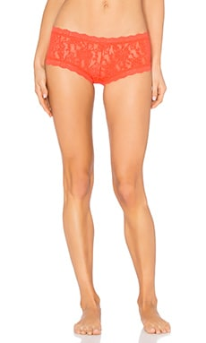 Hanky Panky Signature Lace Boyshort in Salsa