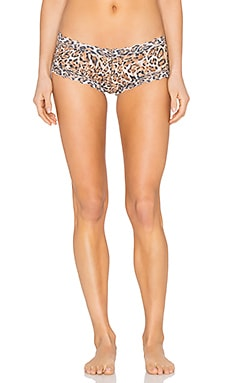 Hanky Panky Leopard Noveau Boyshort in Brown