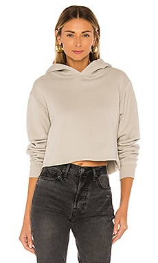 The Crop Long Sleeve Hoodie x karla $61