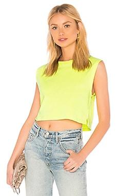 Укороченная майка neon sleeveless crop - Hanes x Karla