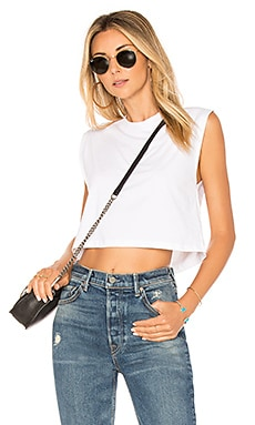 The Sleeveless Crop Tank Hanes x Karla $30