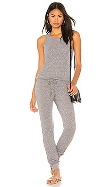 Jersey Tank Jumpsuit MONROW $135 NEW ARRIVAL