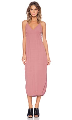 Crepe Side Slit Tank Dress