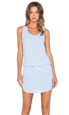 MONROW Tennis Dress in Surf