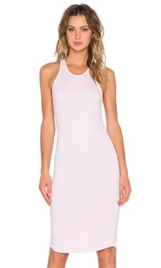 MONROW Sport Tank Dress in Cheery Blossom