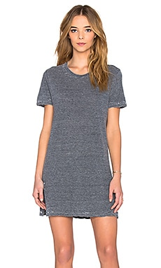 MONROW x REVOLVE Vintage Burn Out Oversized Tee Dress in Inca