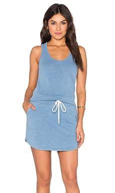 Tennis Dress in Denim Fade