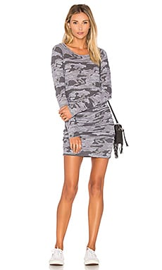 Camo Baseball Dress in Granite