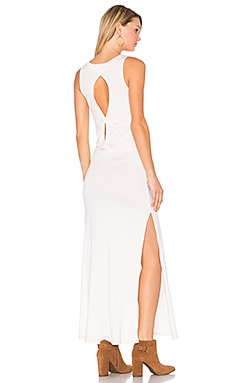 Knot Back Maxi Dress in Ivory