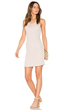 Double Layer Tank Dress in Chalk