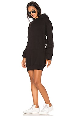 Lace Up Hoody Dress