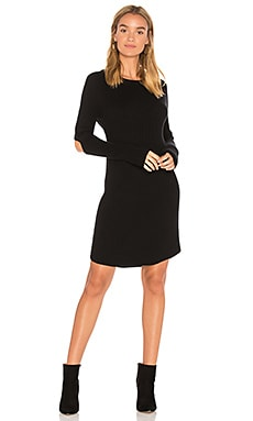 Elbow Slash Sweater Dress