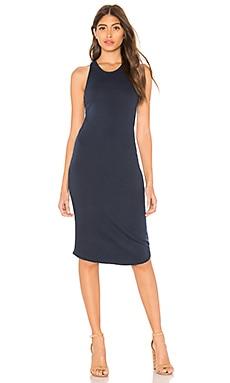 Купить Платье-майка - MONROW синего цвета