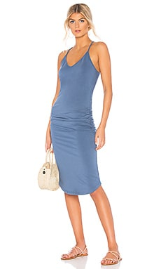 V Neck Racer Back Dress MONROW $117 BEST SELLER