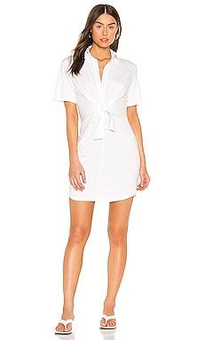 Платье-рубашка - MONROW Белый фото
